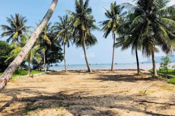 Bán đất - sổ đỏ - mặt biển ấp Dá Chồng, Bãi Thơm, Phú Quốc