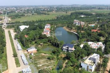 Bán đất thổ cư mặt đường 50m khu CNC Hòa Lạc, DT: 120m2 vuông vắn 2 mặt thoáng