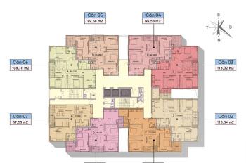 Cần bán lại 1 số căn đẹp tòa N03T7 - Tây Hồ Golden Land - 0967 653 218