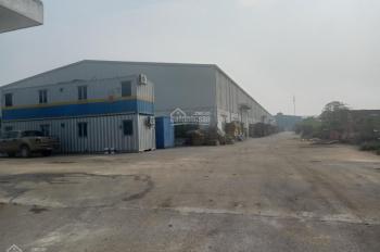 Bán 2ha đất nhà xưởng có 7000m2 xưởng tại Quốc Oai, Hà Nội