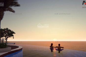 Nằm sát đường bờ biển,Aria Vũng Tàu sở hữu trọn vẹn bãi biển riêng cho mình,Giữ chỗ: 50 triệu/sp