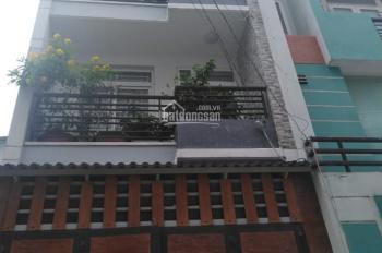 Bán nhà HXH 6m sau căn mặt tiền 4.4x16 đúc 3 lầu giá 6ty250 TL phường 14 gò vấp