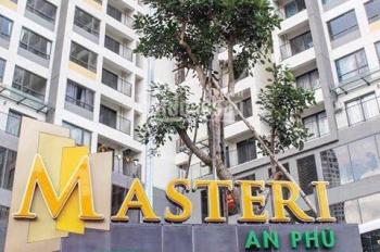 Cho thuê CHCC Masteri An Phú, Q2, 2PN 71m2 lầu cao thoáng mát giá từ 14tr/tháng