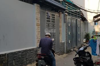 Nhà mới 1 trệt, 1 lầu 2 mặt tiền hẻm ba gác  đường nguyễn thái sơn, p5,  gò vấp, 4.6 tỉ