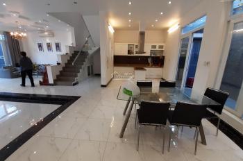 Cho thuê villa đường 34 An Phú, thiết kế tinh tế, hiện đại, 8x16m, trệt, 2 lầu, 44tr/tháng