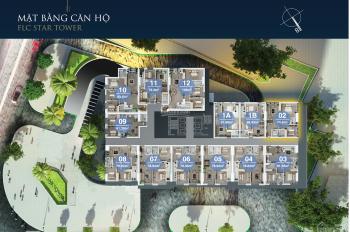 Cần bán gấp 2 căn hộ 79m2 tại chung cư FLC Hà Đông, giá đúng 17 triệu/m2