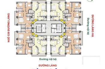 Cần bán gấp căn 08 tòa A chung cư 88 Láng Hạ, DT 112m2, gía 3,7 tỷ. LH 0984630299