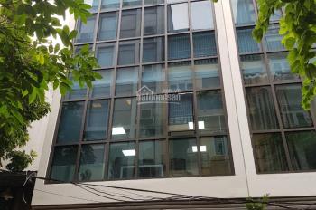 Cho thuê nhà ngõ Giảng Võ, Đống Đa, HN. DT 80m2, 8 tầng, MT 8m, thông sàn, giá 55tr/th