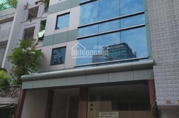 Cho thuê tòa nhà ốp kính siêu đẹp đường Hồ Xuân Hương, Q3 sẵn hầm 5 tầng (8x14m) 300 tr/th