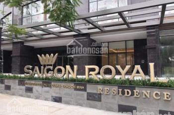 Cho thuê căn hộ Saigon Royal,  2 phòng ngủ, nội thất cơ bản có bếp.