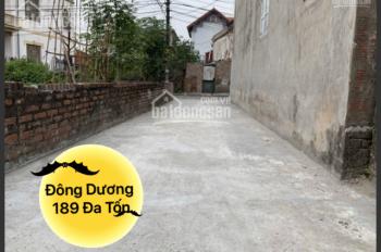 Siêu rẻ 50.5m2 đất xóm 3, ngõ ô tô, hai mặt thoáng trung tâm xã Đông Dư, Gia Lâm. LH 0987.498.004