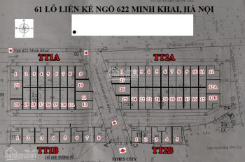 Bán nhà liền kề chính chủ ngõ 622 Minh Khai, đường 3 oto tránh nhau, 86m2 xây 5 tầng bán 19,8 tỷ TL
