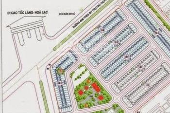 Bán gấp đất đấu giá vị trí đẹp đường 40m khu LK19A - B, X7 phường Dương Nội