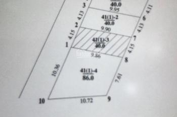 Chính chủ cần bán lô đất 86m2 trục chính xóm Nhì, Vân Nội, Đông Anh, Hà Nội