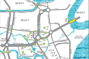 Đất nền khu La Casa, Đào Trí, Quận 7. Giá: 70 triệu/m2 (7*20m)