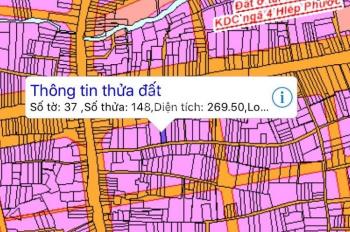 Sang nhượng gấp lô đất 2 mặt tiền đường Tôn Đức Thắng, giá LH: 0912.56.6839