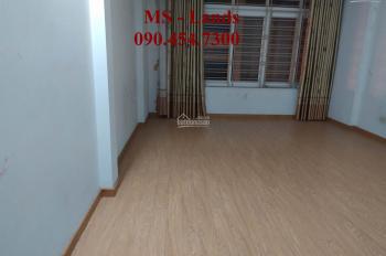 Cho thuê nhà riêng mặt ngõ to 42 Trần Cung, Cầu Giấy - Hà Nội ô tô đỗ cửa. Diện tích 50m2 x 5 tầng