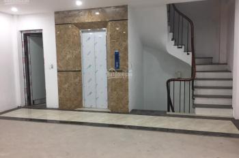 Cho thuê nhà mặt phố Nguyễn Trung Trực - lô góc, mới xây: DT 50m x 5T, Mt 16m, thang máy 0936030855