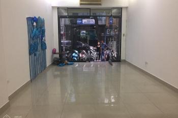 Cho thuê nhà mặt phố Trần Khát Chân (mới), Hai Bà Trưng, DT 40m2 x 5T, MT 4m, thông sàn 0936030855