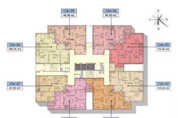 Bán căn hộ giá 28tr/m2 khu chung cư Ngoại Giao Đoàn. LH 0963 185 210