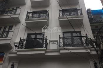 Cho thuê nhà ngõ 82 Chùa Láng , 55m2, 5 tầng , ô tô đỗ cửa . Làm văn phòng, dạy học