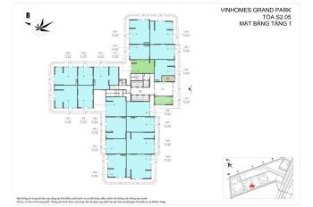 Cần bán căn shophouse tòa s2.05 Vinhomes Grand Park Q9 căn góc đẹp nhất phân khu s2, LH: 0903149027