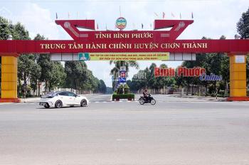 Đất chính chủ giá rẻ Chơn Thành, ngay mặt tiền QL13 kinh doanh gần chợ,trường học,ủy ban,KDC đông.