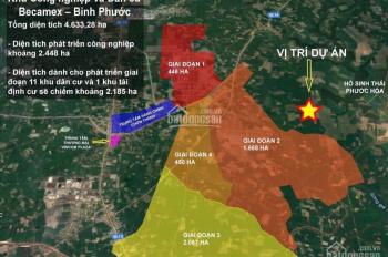 Đất ngay ngã tư Chơn Thành , giá 450/1000m2, sổ sẵn sang tên ngay , lh: 0899755881