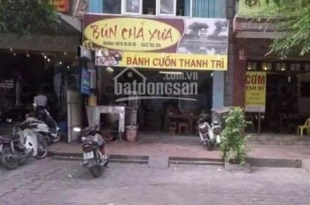 Cho thuê nhà MP Duy Tân DT T1 = 65m2, T2 - 3 = 85m2, MT 11m
