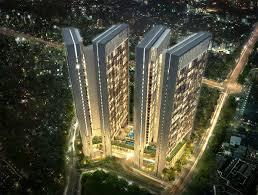 Cho thuê kiot thương mại tầng 1 tòa chung cư cao cấp ngay mặt đường Nguyễn Hoàng