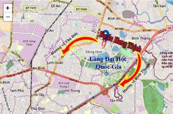 Tập đoàn Hưng Thịnh mở bán dự án căn hộ cao cấp ngay làng đại học giá tốt, TT 15%, chiết khấu 3-18%
