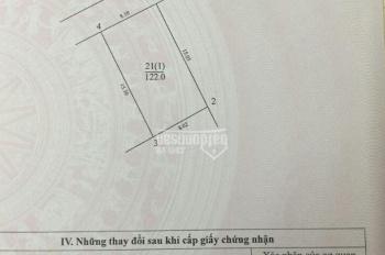 Bán đất thổ cư Khoan Tế, Đa Tốn, Gia Lâm, giá 22tr/m2, DT 120m2