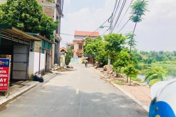 Bán đất trục chính xóm 1 Đông Dư, Gia Lâm lô góc hai mặt thoáng DT 70m2 kinh doanh được, 0987498004
