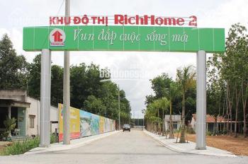 Bán đất sổ đỏ RichHome 2, Hòa Lợi, chợ Nhật Huy, dân cư đông đúc, 75m2, giá 540tr, LH: 0367362993