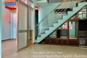 Ngân hàng hạ lãi suất cho vay. Bán rẻ nhà kiệt quận Thanh Khê, gần Mẹ Nhu, bán nhà giá đất 1tỷ 50%
