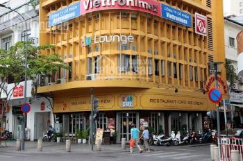 Cho thuê nhà 2MT 72 - 74 Nguyễn Huệ + Nguyễn Thiệp, P. Bến Nghé, Q.1, DT 9.3x20m, trệt, 2 lầu