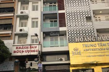 Cho thuê nhà MT Cao Thắng, phường 12, quận 10. DT: 4x16m 1 trệt, 1 lửng, 5 lầu, thang máy, nhà đẹp