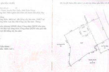 Đất ở sở hữu lâu dài Bãi Thơm, Phú Quốc cần chuyển nhượng xây dựng KS, chính chủ|LH 0933863139