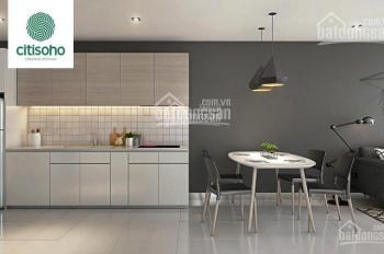 Cần bán gấp CH Citi Soho, Q2, DT: 56m2 (2PN, 1WC), sắp nhận nhà, sổ hồng vĩnh viễn, giá rẻ nhất