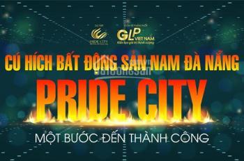 Đất nền dự án Pride City - Nam Đà Nẵng cơ hội đầu tư sinh lời- CHIẾT KHẤU ĐẾN 6% lh 0931931165