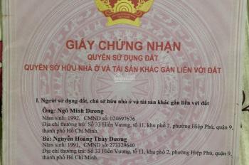 Bán lô đất đường ven biển Hồ Tràm, chợ Bưng Riềng, Quốc Lộ 55, Xuyên Mộc