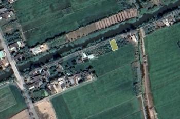 Bán 187m2 đất nền nhà mặt tiền sông mát mẻ, ngay KCN Gia Thuận, Gò Công Đông, Tiền Giang