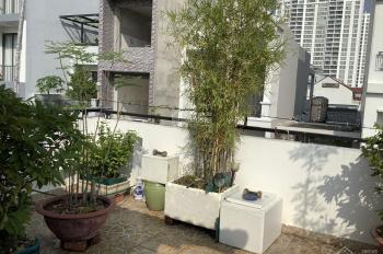 Cho thuê nhà mặt phố đường 49B: 5x10m, trệt, 2 lầu, 4PN, giá 25 tr/th. Tín 0983960579