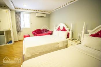 Chính chủ cho thuê gấp nhà mặt tiền Nguyễn Thông, P9, Q3 hầm 7 tầng 26 phòng DT 6x21m nở hậu 6,5m