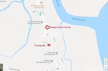 MT đường Nguyễn Văn Tạo, H. Nhà Bè, cho thuê đất diện tích 2900m2