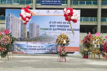 Nhượng lại căn hộ mặt biển Hạ Long cho thuê 32tr, HTLS 30 tháng, Đóng 800tr ký HĐMB  LH 0931791792