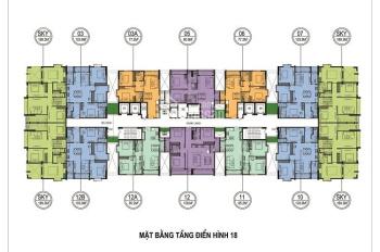 Cho thuê chung cư cao cấp One 18 Ngọc Lâm Long Biên, S: 100m2, giá: 11tr/tháng. LH: 097.190.2576
