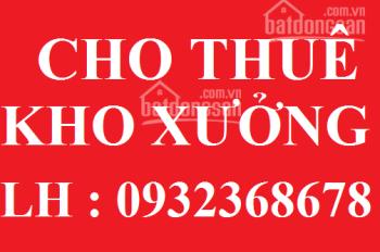 Cho thuê kho - xường KCN Tân Bình Q Tân Phú 500m2 - 30 triệu ; 500m2 - 55 triệu ; 750m2 - 69 triệu