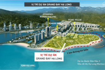 Biệt thự mặt biển Hạ Long 329m2, 7,8 tỷ sở hữu Vĩnh Viễn LH ngay 0931791792