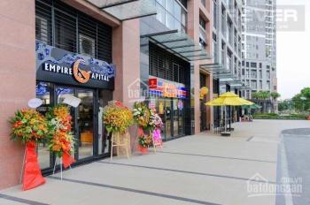 Cần cho thuê gấp Shophouse 60m2 mặt tiền Mai Chí Thọ dự án The Sun Avenue, giá 15 triệu/ tháng
